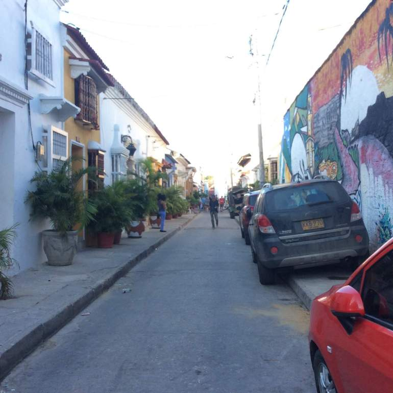 Another road in old town.