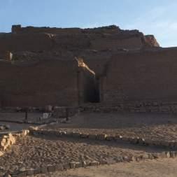 The sun temple, outside Lima, Peru
