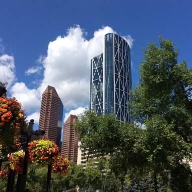 Calgary, Canada - city view