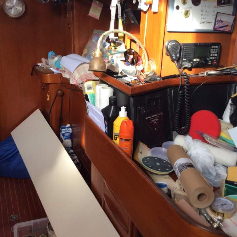 The boat is still a tip….