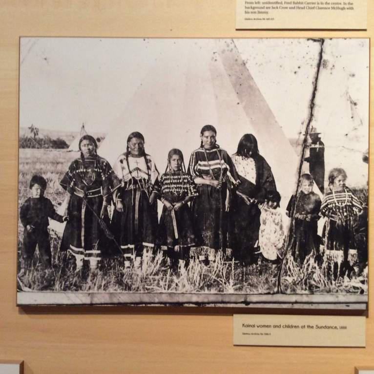 And a beautiful native Indian picture in Glenbow museum, Calgary......