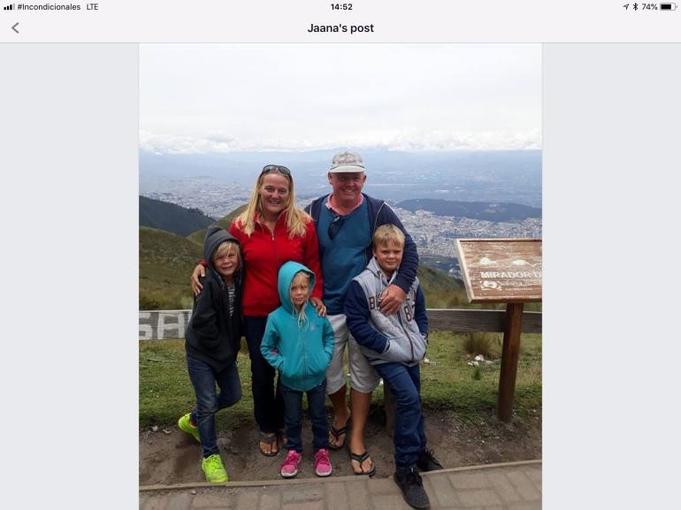 Us in Ecuador